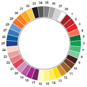 Manchester Colour Wheel Soul Nutrition