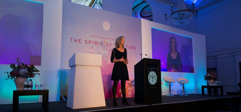 Katie Sheen mindfulness speaker at Master Innholders conference London