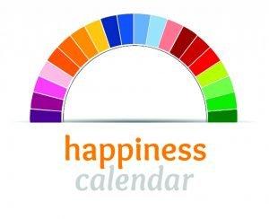 online gratitude diary The Happiness Calendar