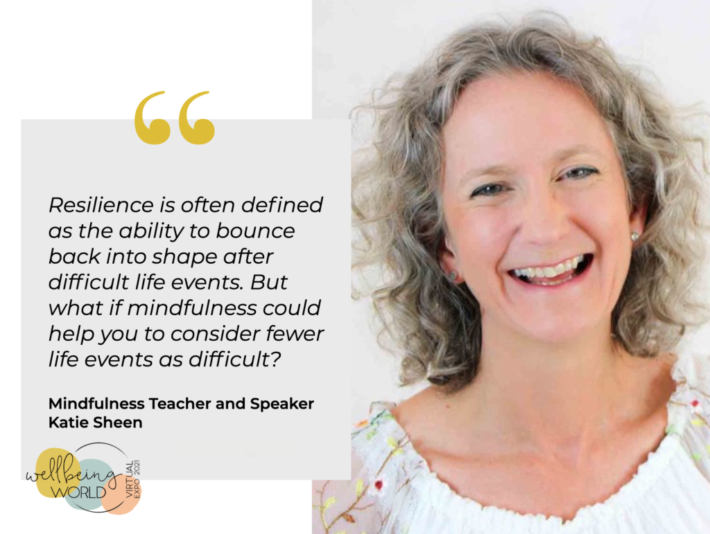 Mindfulness for Resilience quote